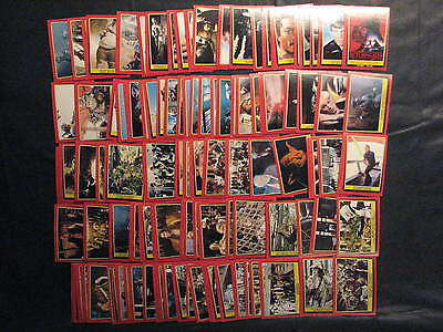 Star Wars: Return of the Jedi - 1983 OPC Set - 132 cards, Fair -EX condition