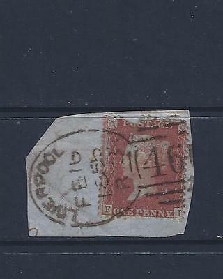 Qv Penny Red With Spoon Cancel