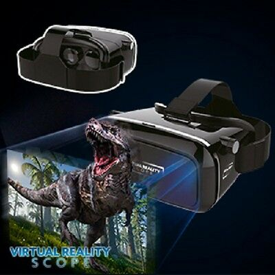 Virtual Reality Scope Headset for Smartphones 3D for Android iOS and Google apps