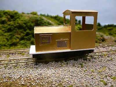 Model railway 09 scale Etched Brass Bodyshell Hunslet 0-4-0 loco kit no 3 15inch