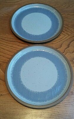 Vintage Midwinter Stoneware Denim plates