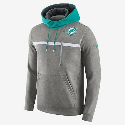 Miami Dolphins NFL Nike Pullover Hoodie, Men's XL, BNWT