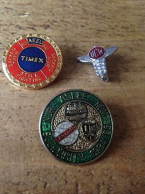 Political Trade Union Badges,timex,ucw,miners Badge