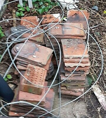 Bulk lot of roofing tiles