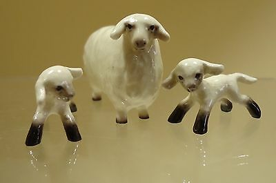 Hagen Renaker Speciality Figurines Sheep and 2 Lambs