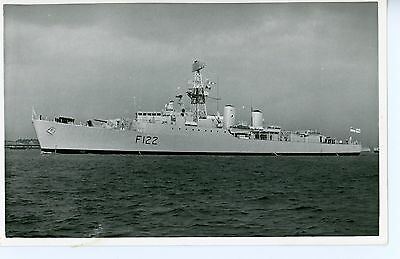 Royal Navy, Original Photo, HMS Gurkha, Frigate F122,  Wright & Logan, 1968