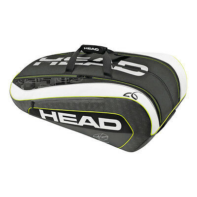 Head Djokovic Monstercombi 12 Pack Tennis Bag