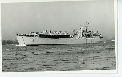 Royal Navy, Original Photo, HMS Narvik, LST3044,  Wright & Logan, 1948