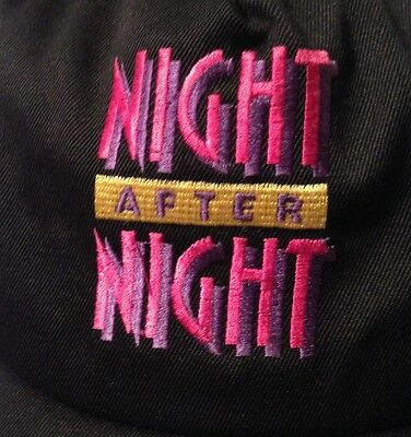 Vintage NIGHT AFTER NIGHT Promo Hat Snapback Cap TV Show 90's Comedy Channel