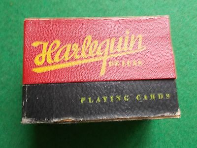 Vintage double pack playing cards sealed