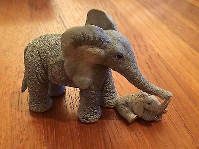 Tuskers elephant - Tender Touch - 90948 - elephant & baby
