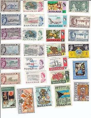 Bahamas 28 Different stamp