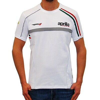 """New Aprilia Racing Team T-Shirt X -Display Large 40"""" Chest, Official Gear"""