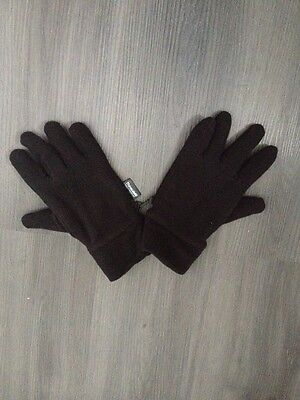 Black Thinsulate Gloves M&S S/M