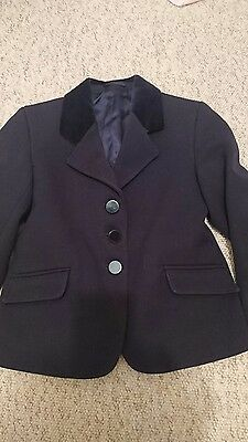 """showing selection 20"""" jacket navy tiny tot for pretty ponies"""