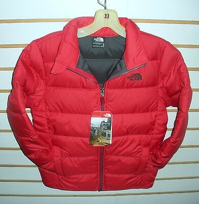 The North Face Boys Andes Down Winter Jacket -Chq6- Tnf Red -  S, M