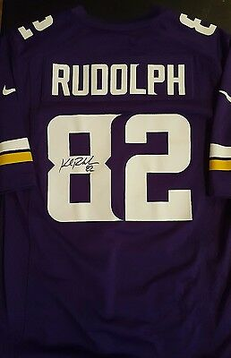 Kyle Rudolph Autographed Jersey Signed