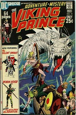 DC Special #12 VF 8.0 Viking Prince; Kubert art!