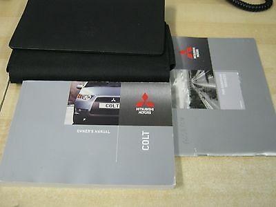 MITSUBISHI COLT   OWNERS HANDBOOK PACK MANUAL 2008-2012  inc service book
