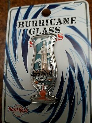 Pin Hard Rock Cafe Seville Hurricane Glass