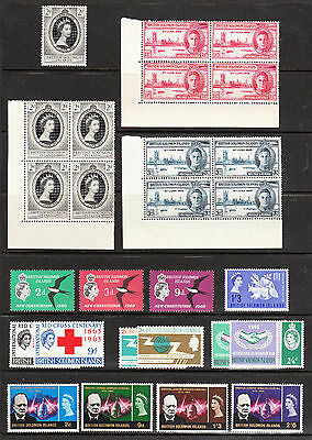 Br Solomon Is. 1946, 61-6. Commemoratives. Victory. Coronation-New Const. Mnh/lm