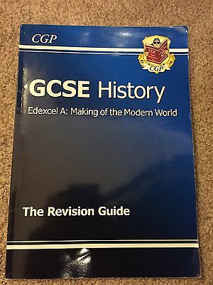 GCSE History Edexcel A - Making of the Modern World Revi..., CGP Books Paperback
