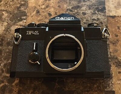 "Canon F-1 35mm SLR Film Camera Late Model ""145455"" From JAPAN"