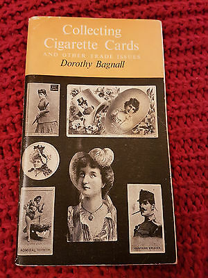 COLLECTING CIGARETTE CARDS & OTHER TRADE ISSUES Book by Dorothy Bagnall 1973 ed