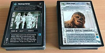 Star Wars CCG SWCCG Reflections 3 complete premium 100 card set