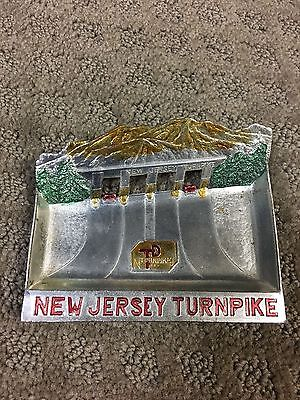 Vintage New Jersey Turnpike Tray