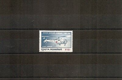 Romania 1995 SG5720 1v of set NHM IAR 316 Red Cross Helicopter