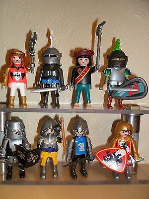 PLAYMOBIL KNIGHTS With Weapons (medieval men,Figures For Castle)