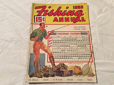 Estate Find 1938 Fishing Annual Magazine