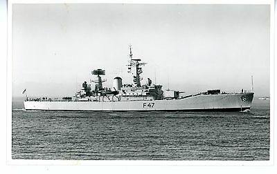 Royal Navy, Original Photo, HMS Danae, Frigate F47, Wright & Logan, 1968
