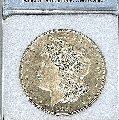1921-D Morgan Silver Dollar Near Gem Uncirculated Proof Like @@ Nice @@