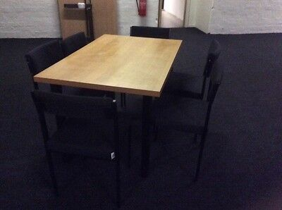 Beech Colour Rectangle Meeting / Conference Table.