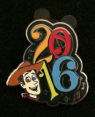 Disney Trading Pin 2016 Character Booster Pack Woody From Toy Story