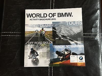World of BMW Activity brochure 2012