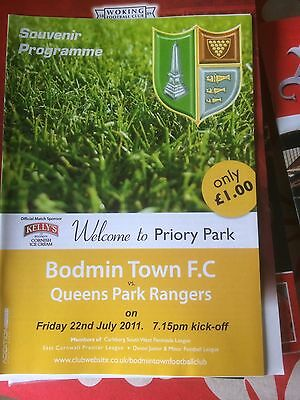 Bodmin Town V QPR  friendly 2011