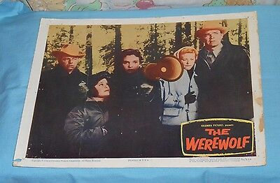 original THE WEREWOLF LOBBY CARD