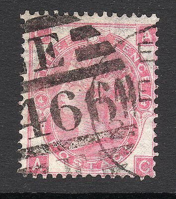 SG92   3d Rose Plate 4 - Wmk Emblems  -  Good to Fine Used - Cat £250
