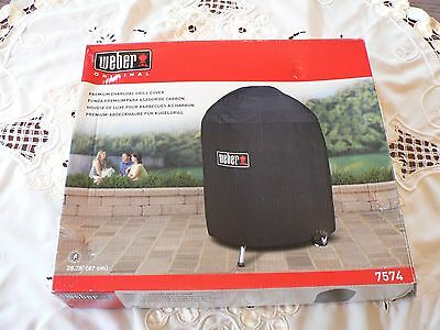 """Weber Gas  Grill Cover  #7574 26"""" New In  The Box Never Used No Longer Available"""
