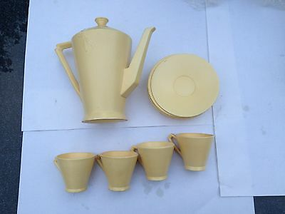 Vintage Cauldon Art Deco Coffee Set