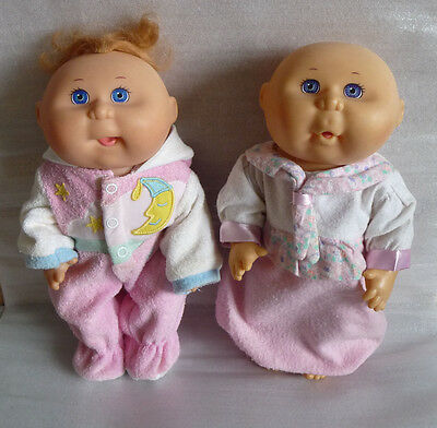 Pair of Vintage Hard Body Cabbage Patch Kids Dolls