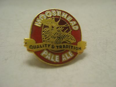 Vintage Moosehead Pale Ale Pin Badge