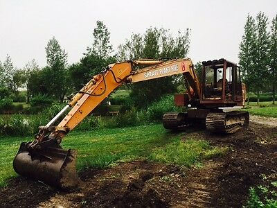 Case Excavator Long Reach Boom And Dipper Arm