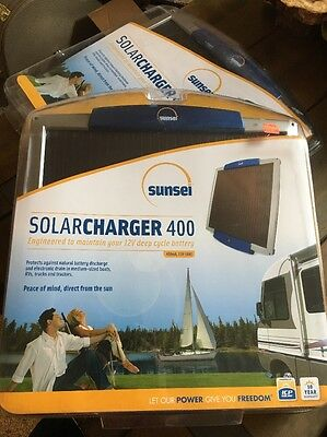 2 Sunsei Solar Charger 400