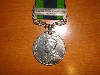 British Medal India General Service  NWF 1930-31 Seaforth