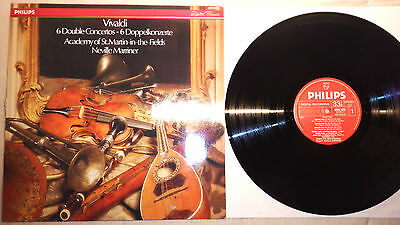 164. Philips Digital - Vivaldi 6 Double Concertos - Marriner - Near Mint