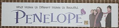 Penelope, Large (5X25) Movie Theater Mylar Banner/Poster
